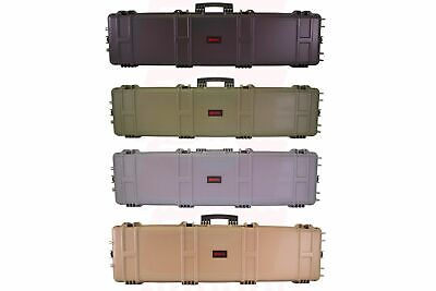 *NEW* Nuprol XL Hard Airsoft / Paintball Case With Wave Foam • 90.99£
