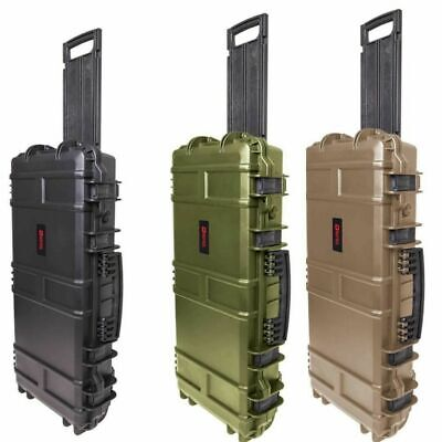 *NEW* Nuprol Medium SMG Airsoft / Paintball Hard Case With Wave Foam • 64.99£