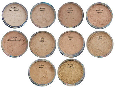 £6.39 • Buy Bare Pure Magic Minerals Foundation Makeup Full Mineral Cover + FREE Samples