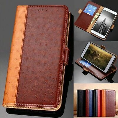 AU11.99 • Buy For LG Q7 Q6 V30+Plus V40 V50 ThinQ G5 G6 G7 G8 Luxury Leather Wallet Case Cover