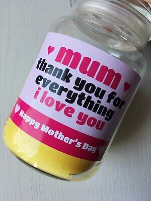 Mother's Day Candle Label Gift For Mum, Nannie, Godmother, Stepmum • 2.80£