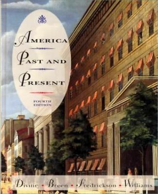 $4.03 • Buy America, Past And Present By Divine, Robert A.