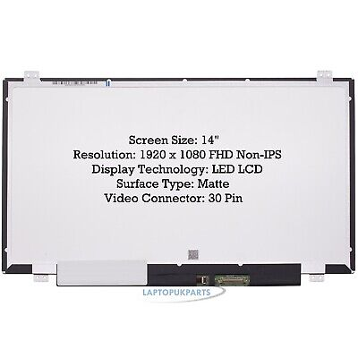 £222.22 • Buy New Replacement For HP PROBOOK 640 G2 Laptop Screen 14  LED LCD Full-HD Display