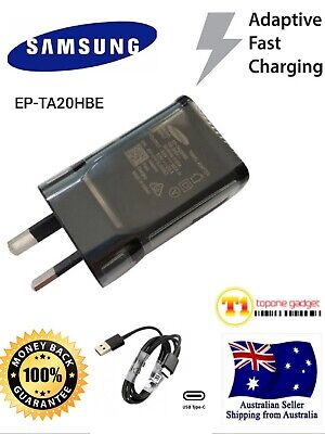 AU7.25 • Buy GENUINE SAMSUNG Adaptive FAST Charger EP-TA20HBE For Galaxy S9 S8 Note8 Note 9