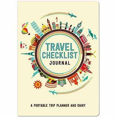 £6.99 • Buy Travel Checklist Journal Portable Trip Planner Diary Holiday Check List Fun 7840