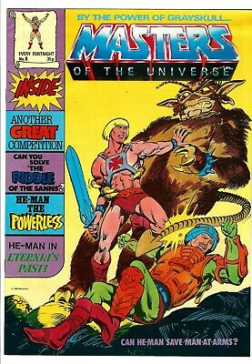 $24.99 • Buy Masters Of The Universe Magazine #8 (1986) VG/FN  UK Edition  He-Man - Skeletor