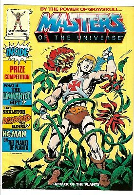 $24.99 • Buy Masters Of The Universe Magazine #9 (1986) VG/FN  UK Edition  He-Man - Skeletor