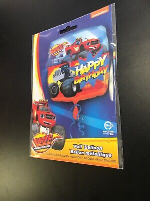 Blaze & The Monster Machines Party Decoration Happy Birthday 18  Foil Balloon • 2.58£