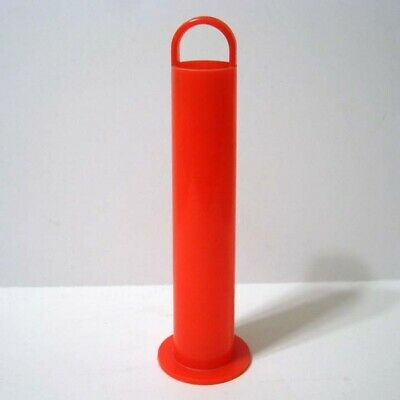 $23.96 • Buy 45 RPM Record Red Plastic Storage Stacker Holder - Holds 90 - Antique 1960s?