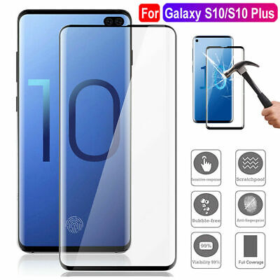 $ CDN3.09 • Buy For Samsung Galaxy S9 S8 S10 Plus Note 20 Real Tempered Glass Screen Protector