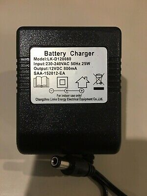 AU24.95 • Buy 6V 12V Battery Charger Kids Electric Ride On Cars/Bikes/Scooters/Quads