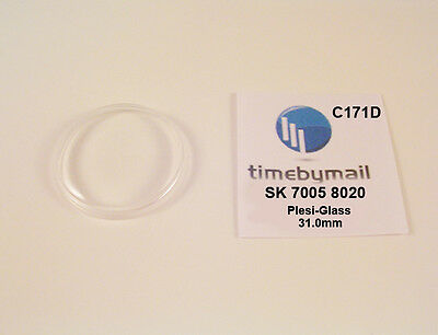$ CDN26.44 • Buy New Watch Crystal For SEIKO 7005 8020 Automatic Plexi-Glass New Spare Part C171D
