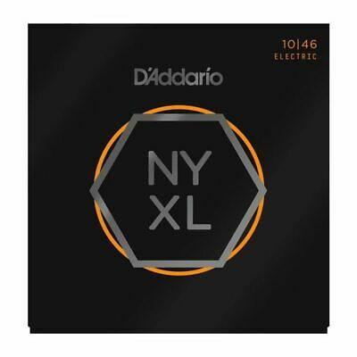 $ CDN16.57 • Buy D'Addario NYXL 1046 Electric Guitar Strings Regular Light Gauge 10-46 NYXL1046