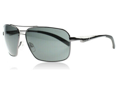 5e55e2b75a BOLLE 11800 Brisbane 100% UVA   UVB Shiny Gun Metal Wire Frame Sunglasses  New •