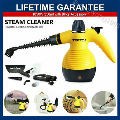 TEETOK Steam Cleaner 9 IN 1 Hand Held Portable Electric With Accessories UK • 25.15£