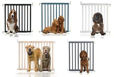 Bettacare Chunky Wooden No Trip Screw Fit Puppy Barrier Dog Safety Gate • 37.90£