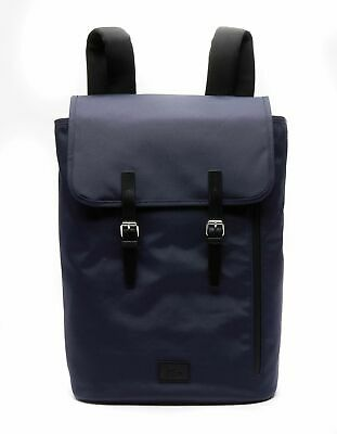 LACOSTE Malo Backpack With Flap Iris Black • 126.41£