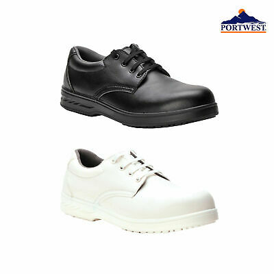 £14.99 • Buy Portwest Laced Food Safety Chef's Work Shoes Kitchen Catering Hospital Lab FW80