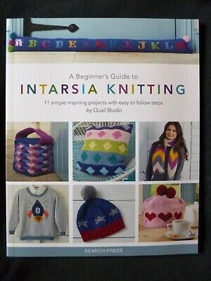 A Beginner's Guide To Intarsia Knitting - 11 Simple Projects By Quail Studio • 9£