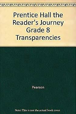 $3.99 • Buy Prentice Hall The Reader's Journey Grade 8 Transparencies By Pearson