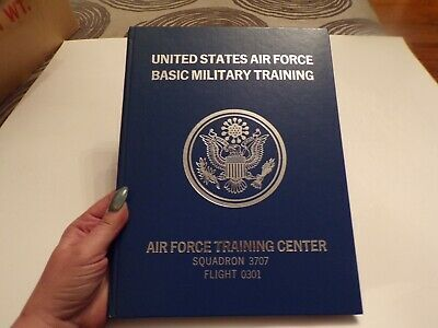 $25 • Buy Vintage United States Air Force Basic Military Training Yearbook & Photo 1975