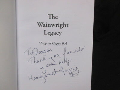 £6.66 • Buy (Very Good) The Wainwright Legacy Margaret Guppy Signed ,,Paperback,