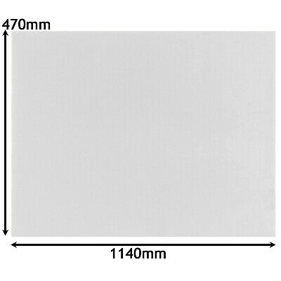 £8.65 • Buy Grease Filter Cut To Size For BAUKNECHT PHILIPS WHIRLPOOL Cooker Hood 470x1140mm