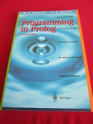 Programming In Prolog Fourth Edition Pb Book • 4.99£