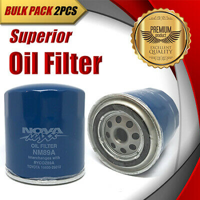 AU20.99 • Buy 2 X Oil Filter Z89A / WZ89A Fits NISSAN Navara Pathfinder FORD JEEP LAND ROVER..
