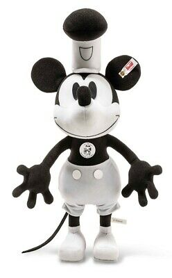 $376.96 • Buy Steiff Steamboat Willie Mickey Mouse 90th Anniversary Limited Edition - 354458