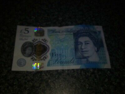 Very Rare 5 Pound Note Serial Number AA29 • 100£