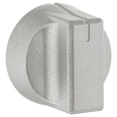 Oven Cooker Hob Silver Control Knob For New World 444447281, 444447283 • 6.99£