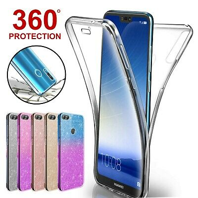 Case For Huawei P Smart P20 Lite Pro Mate P30 Covr 360 Hybrid Shockprof Silicone • 1.99£