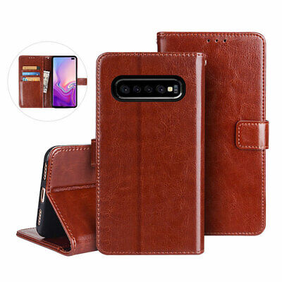 $ CDN7.45 • Buy For Samsung S7 S8 S9+ S20 FE S21 Magnetic Leather Wallet Flip Stand Case Cover