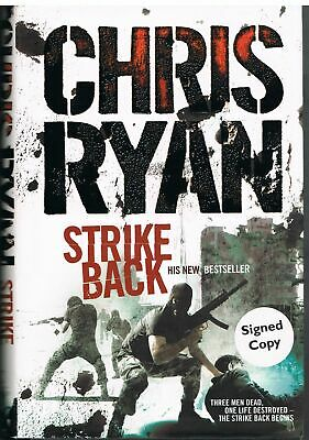 RYAN, Chris Strike Back (Signed First Edition) • 11£