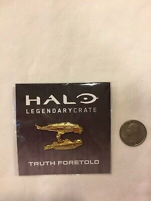 Halo Covenant Plasma Rifle Gold Variant Loot Crate Exclusive Enamel Lapel Pin • 6.18£
