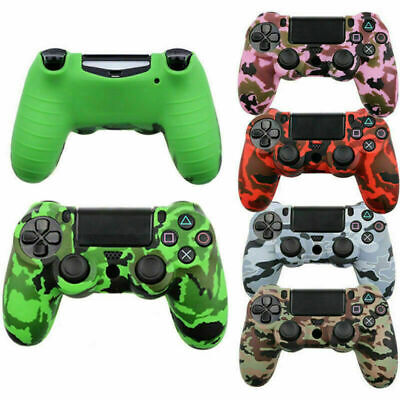 AU17.06 • Buy Controller Camo Silicone Protective Skin Case For Sony PS4 Game Accessories New