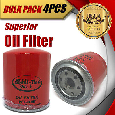 AU89.95 • Buy 4 X Oil Filter Z313/WZ313 Fits FORD Courier MAZDA B2500 MITSUBISHI Challenger..