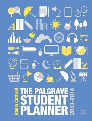 Very Good, The Palgrave Student Planner 2013-14 (Palgrave Study Skills), Cottrel • 5.48£