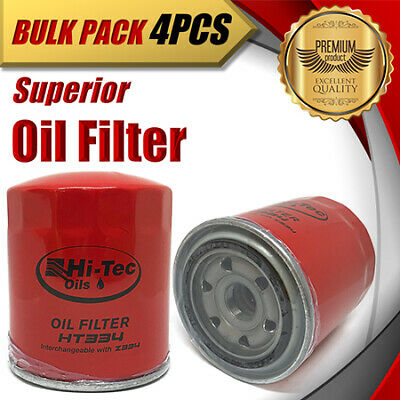 AU56.50 • Buy 4 X Oil Filter Z334/WZ334 Fits MAZDA B-Series FORD Courier DAIHATSU Commercials