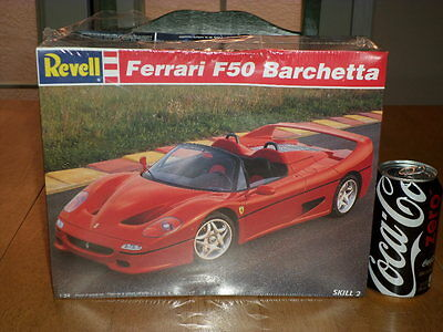 $40 • Buy FERRARI F50 BARCHETTA - SPORTS CAR, Plastic Model Kit, Scale 1/24