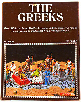$39 • Buy Atlantic Greek Life In The Acropolis Set - Set 1508 - Mint-in-box - 1/72nd Scale