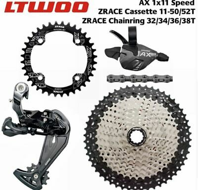 AU120.99 • Buy LTWOO MTB 1x11 Speed Groupset  AX11 46T 50T 52T Cassette/Chainring 11S Group