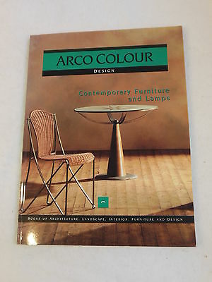 £10.83 • Buy Cerver - CONTEMPORARY FURNITURE AND LAMPS - Arco Color Collection Series Illustd