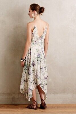 $499 • Buy Zimmermann Lucia Floral Cotton Voile  Dress Size 1 NWT