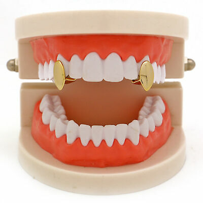 2pc Fangs Grills Dental Single One Vampire Tooth Grill Canine Teeth Caps • 3.55£