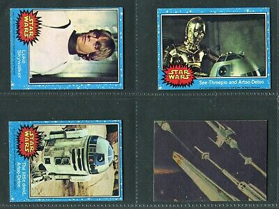 £1.99 • Buy TOPPS CHEWING GUM 1977  STAR WARS (Blue Border)  1 TO 66 - PICK YOUR CARD