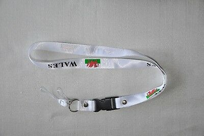 £2.39 • Buy Wales White Lanyard Neck Straps For Camera,mobile Phones,mp4,id Card*v129**