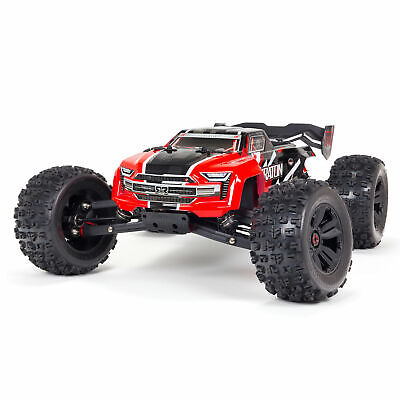 Arrma 1/8 Scale KRATON (2021) 6S BLX 4WD Brushless Speed Monster Truck RTR : Red • 407.86£