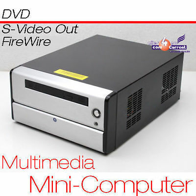 £103.58 • Buy Small PC CPU 1,6 GHZ S-VIDEO Tv-Out 80GB HDD 1 GB RAM DVD 12 V Power Supply MM